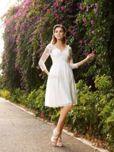 Short Wedding Dresses NZ, Buy Knee Length Bridal Gowns Online – Bonnyin.co.nz