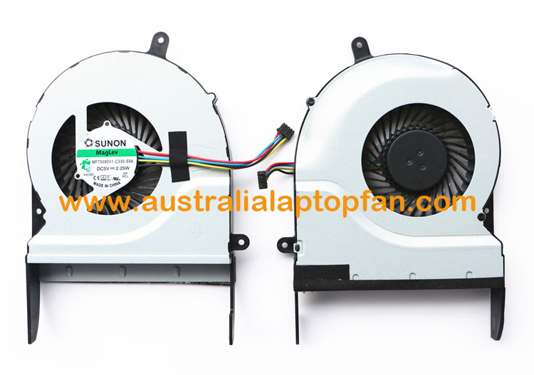 ASUS N551J N551JW N551JK Series Laptop CPU Fan [ASUS N551J N551JW N551JK Series] – AU$35.99