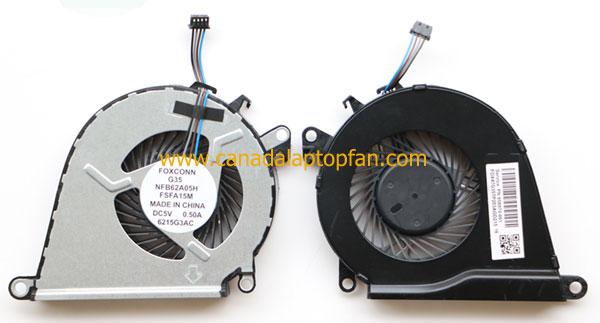 HP OMEN 15-AX000 Series Laptop CPU Fan 858970-001 NS75B00-15K10 [HP OMEN 15-AX000 Series Laptop] ...