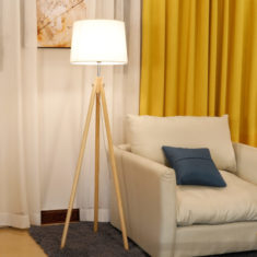Save 40% on Selina 61″ Wood Tripod Floor Lamp,The price only 59.99 and shipping is free.