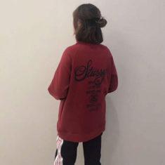 ブランド ステューシー パーカー レディース 人気 stussy プルオーバー 可愛い ステューシーロゴ 刺繍 ...