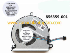 100% High Quality HP Pavilion 15-AU043CA Laptop CPU Fan 856359-001  Specification: Brand New HP  ...